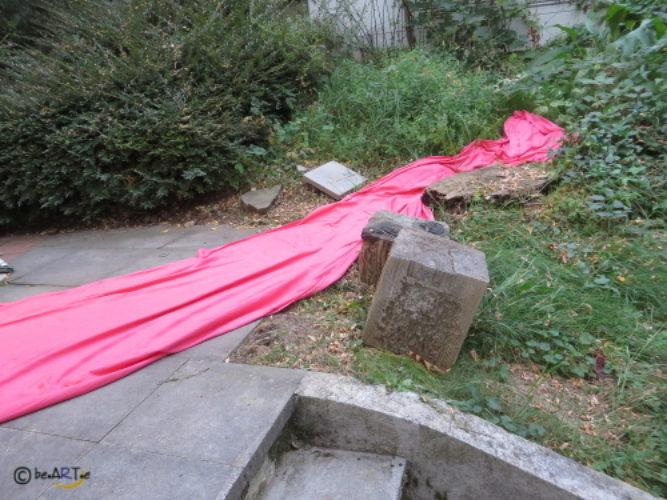 Variationen mit rotem Tuch